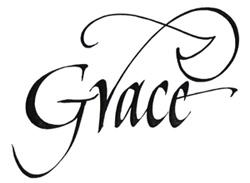 「Grace」CDタイトル  ロゴデザイン